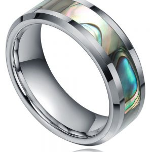 8MM-font-b-Tungsten-b-font-Abalone-Shell-font-b-Inlay-b-font-font-b-Ring-1