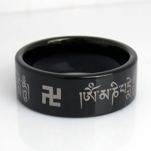 Free-Shipping-Hot-Sales-8mm-Men-s-Comfort-Fit-8MM-Tibetan-Buddhism-font-b-Om-b-1