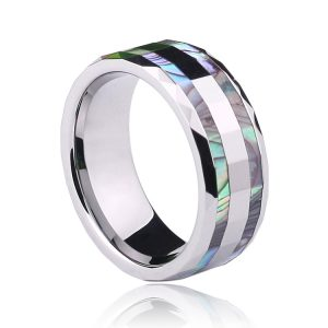 Two-Pieces-Colorful-Mother-of-Pearl-font-b-Inlay-b-font-font-b-Tungsten-b-font-1