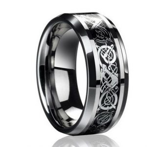 Vintage-engagement-Dragon-font-b-Tungsten-b-font-steel-font-b-Ring-b-font-for-Men-1