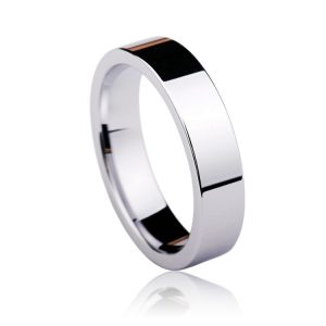 New-Arrival-High-Polished-Tungsten-Wedding-Band-Rings-Flat-Top-for-Man-and-Woman-Size-4-1