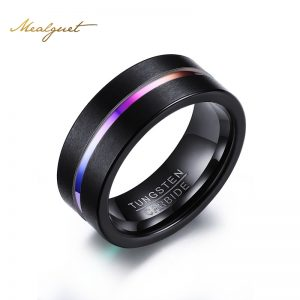 Meaeguet-8MM-Black-font-b-Tungsten-b-font-font-b-Ring-b-font-For-Men-Women-1